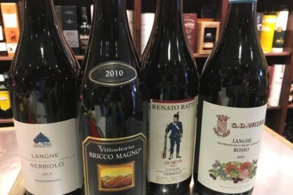 various Nebbiolo wines