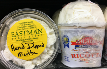Hand Dipped Ricotta Cheese