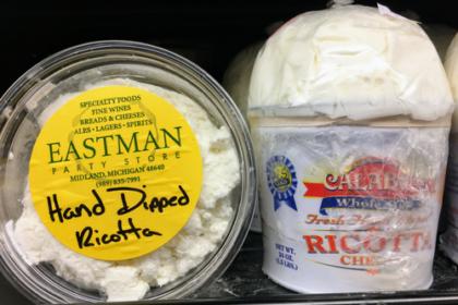 Hand Dipped Ricotta Cheese