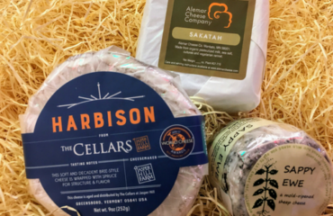 Sappy Ewe, Jasper Hill Harbison, and Alemar Sakatah cheeses