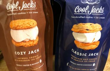 Cool Jacks ice cream sandwiches