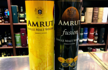 Amrut Indian Single Malt Whiskey and Amrut Fusion now at Eastman Party Store.