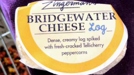 Bridgewater Cheese Log is Cheese of the month