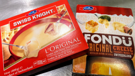 Fondue kits available at Eastman Party Store