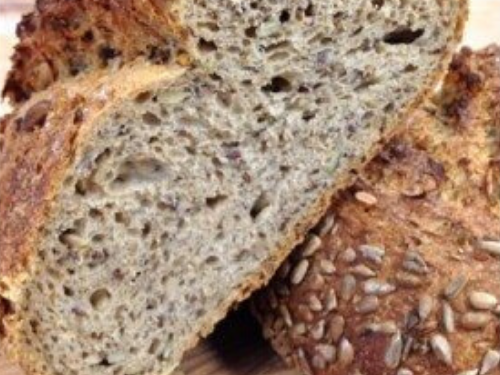 Saskatoon Prairie Seed bread by Crust