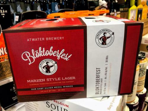 Atwater Bloktoberfest Beer